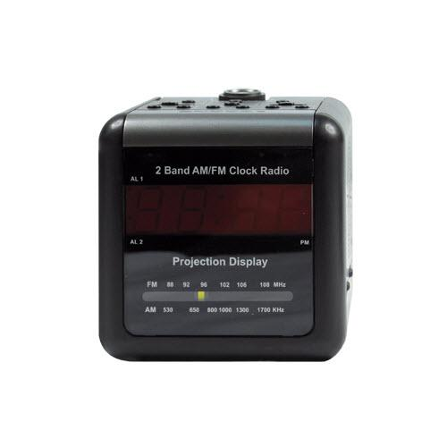 Buy Wi-FI Alarm Clock Radio Covert Camera with 2-Way Talk Back Audio