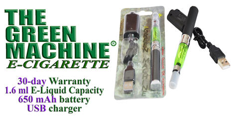 Buy The Green Machine E - Cigarette