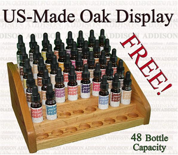 Buy US Made Oak Display