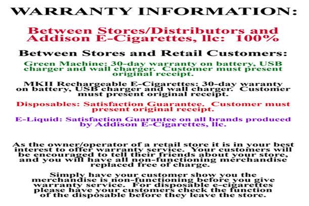 Buy Warranty Information