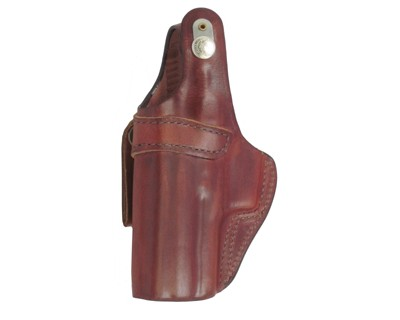 Buy Bianchi 3S Pistol Pocket Leather Holster Plain Tan, Size 13, Right Hand