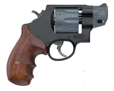 """Buy Smith & Wesson M327 357 Magnum 2"""" Scandium Alloy Frame Black/Grey 8 Round Revolver"""