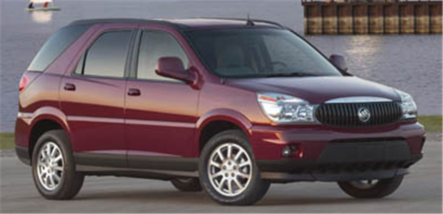 Buy Buick Rendezvous SUV