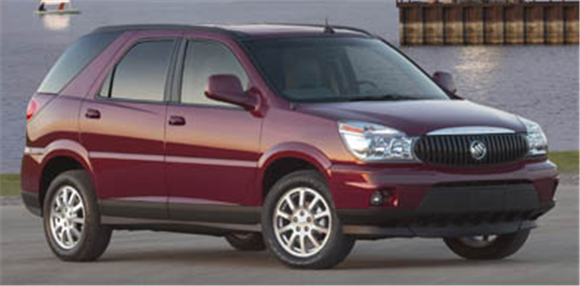 Buy Buick Rendezvous SUV