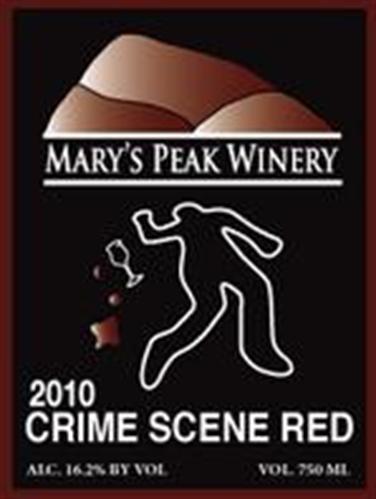 Buy Mary's Peak Crime Scene Red Blend 2010 Wine