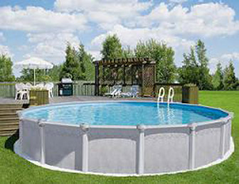 Charming Above Ground Swimming Pools
