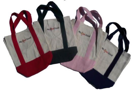 Buy Green Handle Tote bag