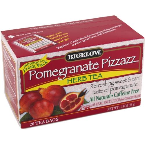 Buy Bigelow Pomegranate Pizzazz Herb Tea