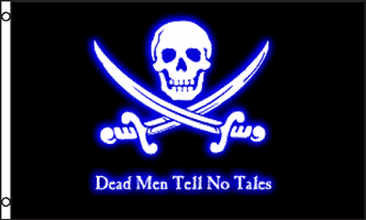 Buy Pirate Dead Men Tell No Tales Flag