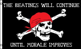 Buy Pirate Morale Flag
