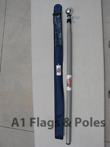 Buy Deluxe Heavy Duty Telescopic Fiberglass Flagpole