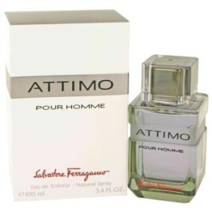 Attimo Cologne by Salvatore Ferragamo, 3.4 oz Eau De Toilette Spray for Men