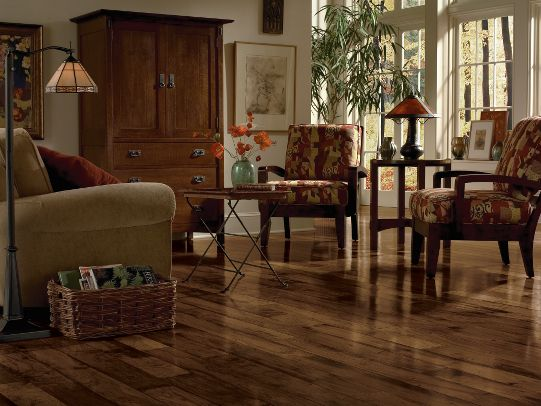 Buy Walnut - Chickory 5 in. Engineered Hardwood Wide Plank