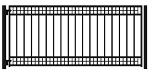 Buy Athena 12' Single Swing Driveway Gate