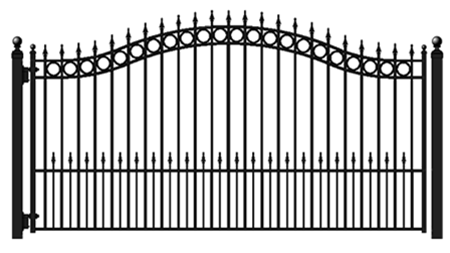 Buy Concord 12' Single Swing Driveway Gate