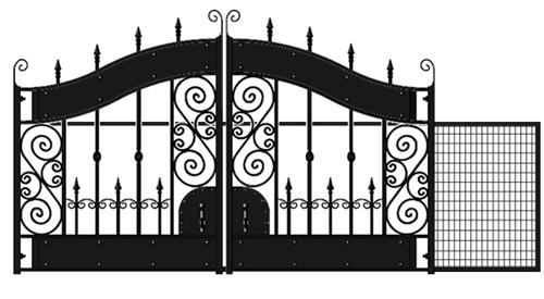 Buy Hyde Park Sliding Gate