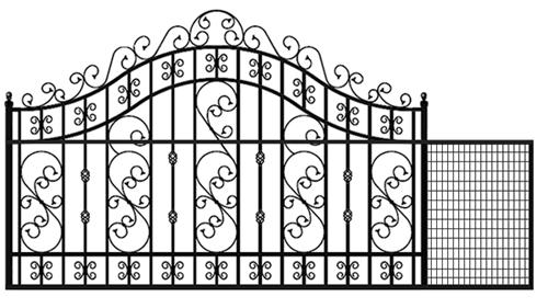 Buy Versailles Sliding Gate