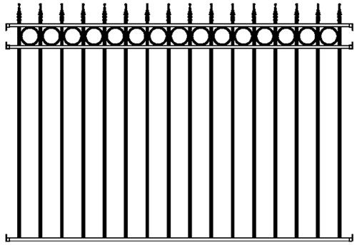 Buy The Concord Fence Panel