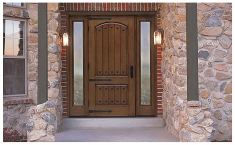 Buy Classic-Craft Rustic Fiberglass Entry Door