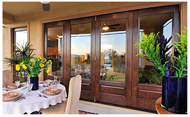 Buy Classic-Craft Mahogany Hinged Patio Door