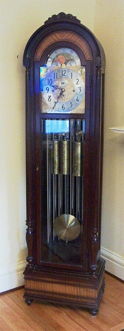 Buy Herschede Triple Chime with Moonphase 9 Tube Grandfather Clock