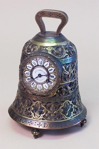 Buy J.E.Caldwell Cast Brass Bell Clock