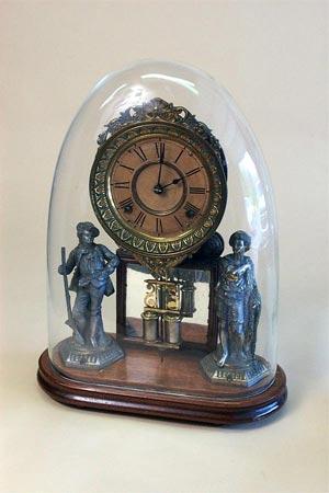 Buy Ansonia Double Statue Clock
