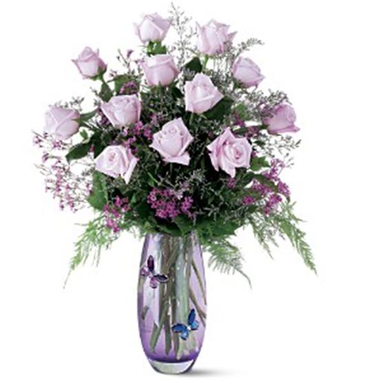 Buy Teleflora's Crystal Butterfly Bouquet