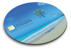 "Buy Round Recycled Mouse Pad (8 1/2"" Diameter)"