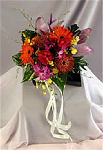Buy Tropical Flowers Bouquet