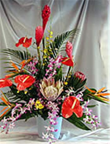 Buy Haleakala Sunrise Tropical Arrangement