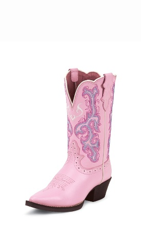 Pink Deercow Boots