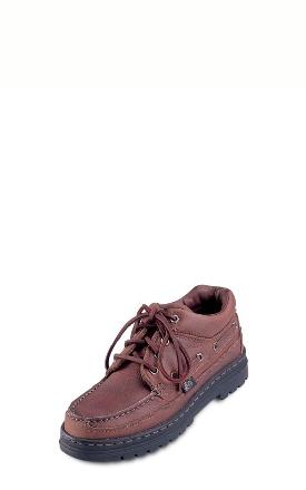 Buy Rustic Cowhide Camp-Moc Shoes