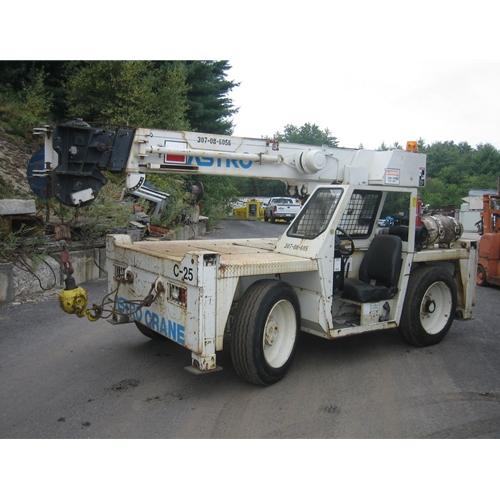 Buy 8-ton P&H deck crane