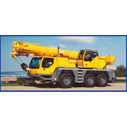 50-ton Liebherr (4 available for service) Crane