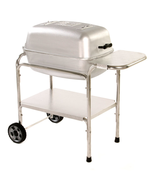 Buy The Portable Kitchen Cast Aluminum Grill and Smoker PK99740