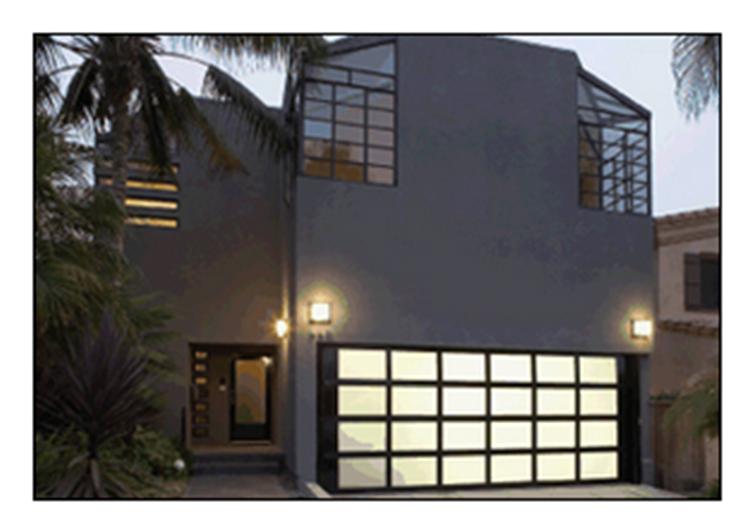 Buy Model 511 Modern Aluminum Garage Doors