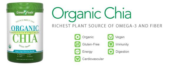 Buy Organic Chia Seeds