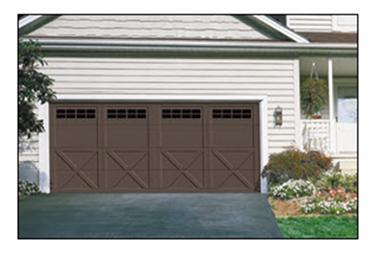 Buy Model 167B Courtyard Collection Garage Doors
