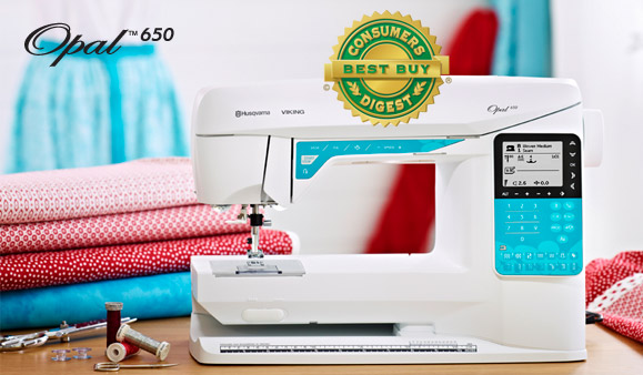 Buy OPAL™ 650 computerized sewing machine