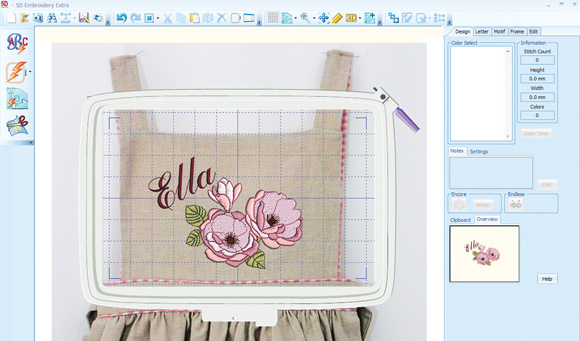 Buy 5D™ Embroidery Extra software