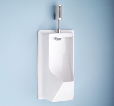 Buy Lloyd Urinal with Electronic Flush Valve - ADA