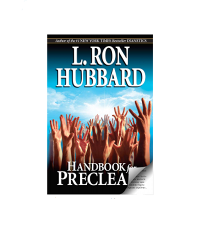 Handbook For Preclears By L. Ron Hubbard Book