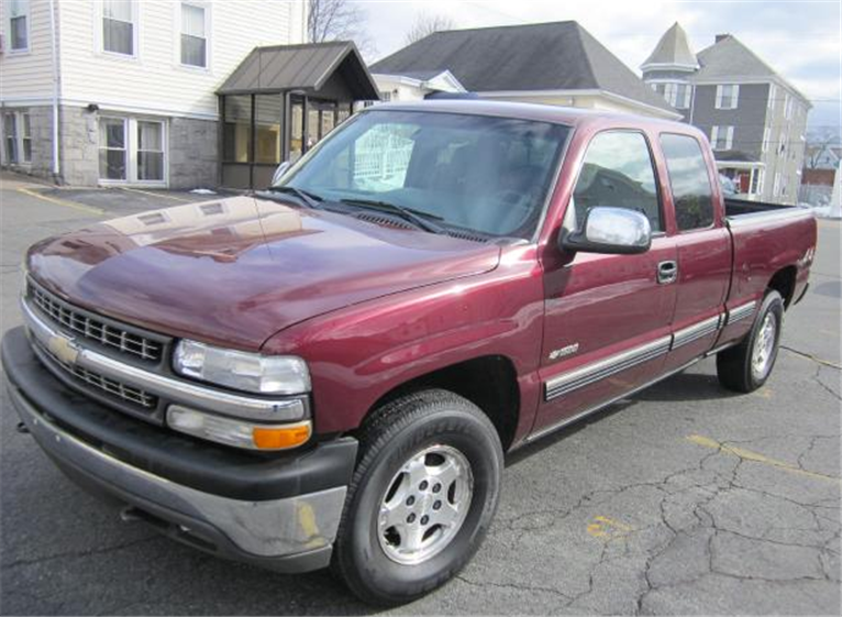 Buy 2002 Chevrolet Silverado 1500 LS Extended Cab 4WD Truck