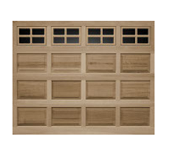 Buy Model 44 Raised Panel Wood Garage Door