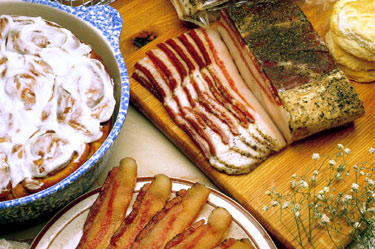 Buy Sliced Peppered Bacon (4.5 lbs, 6 Packages)