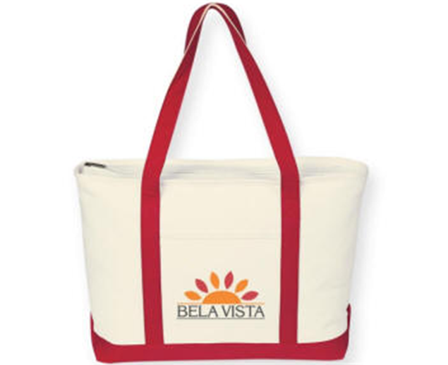 Buy Eco Canvas Zipper Tote Bag