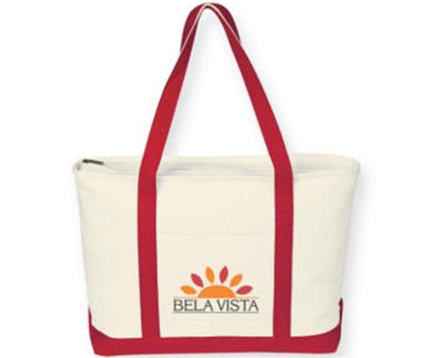 Buy Eco Canvas Zipper Tote Bag