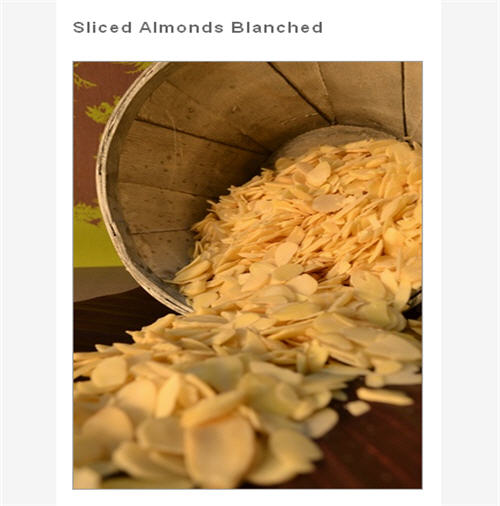 Buy Sliced Blanched Almonds