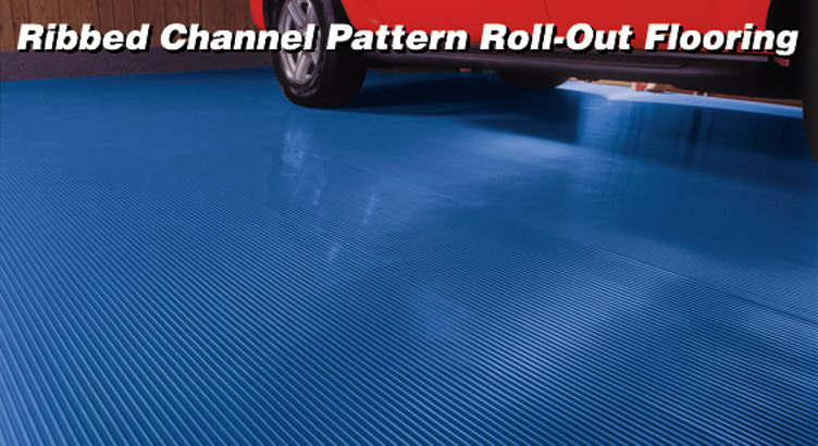BLT Roll Out Ribbed Garage Flooring®